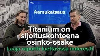 Titanium on sijoituskohteena osinko-osake