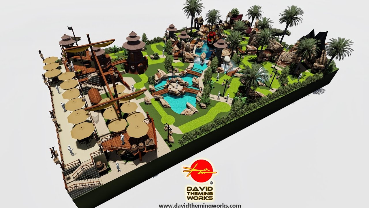 Miniature Golf Course Design And Construction Youtube