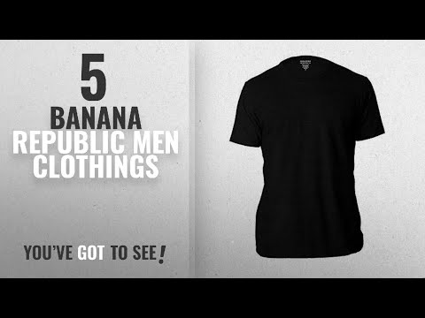 Top 10 Banana Republic Men Clothings [ Winter 2018 ]: Banana Republic Men's Crew Neck Premium-Wash T