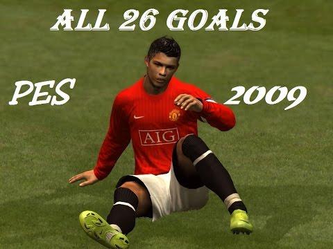 Cristiano Ronaldo ● All 26 Goals ● PES 2009 HD