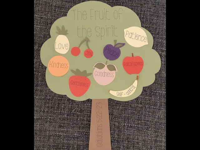 Fruit of the Spirit - Gentleness & Self- Control