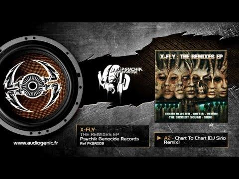 X-FLY - A2 - CHART TO CHART (DJ SIRIO RMX) - THE REMIXES EP - PKGRX09