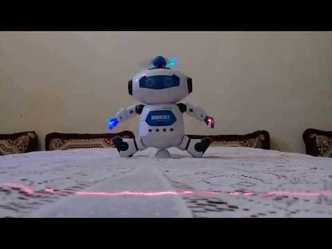 Intelligent Robot RC Dancing Figure Model Gift  -  COLORMIX