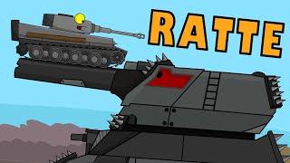 Мега Ратте ♫ КЛИП Мультики про танки