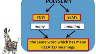 Polysemy Part 1