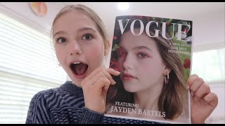 Making my own Vogue Magazine! …