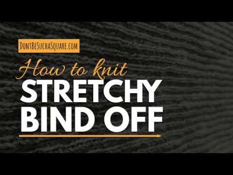 STRETCHY BIND OFF – Tutorial: Finish off knitting with an elastic bind off