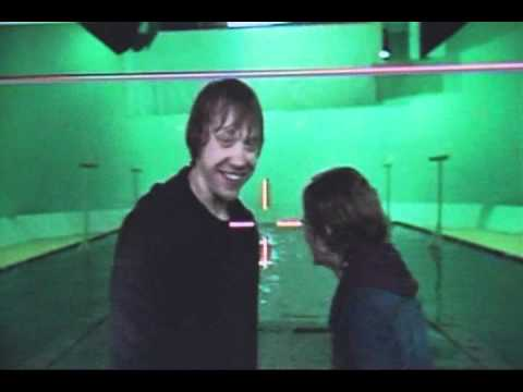 Thumbnail: Ron and Hermione TRY to film kissing scene - Great Quality