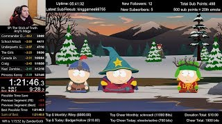 South Park: The Stick of Truth Speedrun 4th place (1:21:46) for Any% Mage