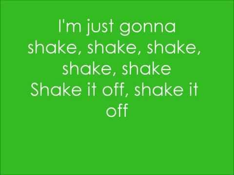 Taylor Swift - Shake it Off (Lyrics On Screen) *NEW
