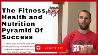 Fitness, Health and Nutrition Pyramid of Priorities for Fitness, Fat Loss and Health Results