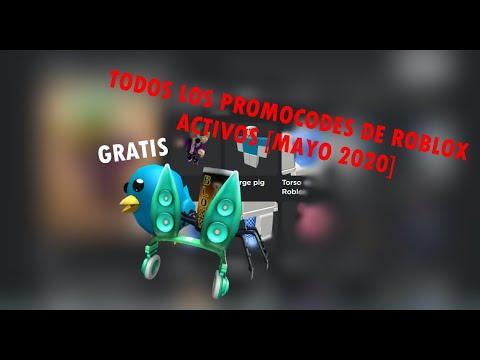 Promocodes De Roblox Activos