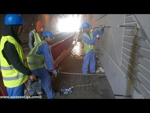 Crack Injection Leak Repair - Sure Seal Qatar
