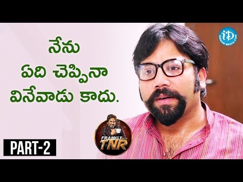 Sandeep Reddy Exclusive Interview Part #2 | Frankly With TNR || Talking Movies With iDream