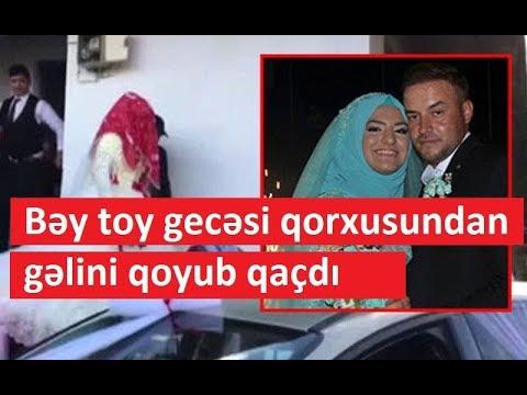 Bəy toy gecəsi qorxusundan gəlini qoyub qaçdı - İLGİNC SƏBƏB