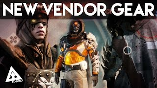 Destiny The Dark Below ALL Vendors, NEW Gear, NEW Weapons, NEW Shaders | Destiny Gameplay
