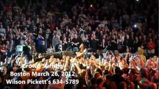 Bruce Springsteen-Crowd Surfing Boston March 26, 2012