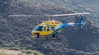 Camarillo Deputies & Sheriff's Copter 3 Using FLIR Locate Burglary Suspect