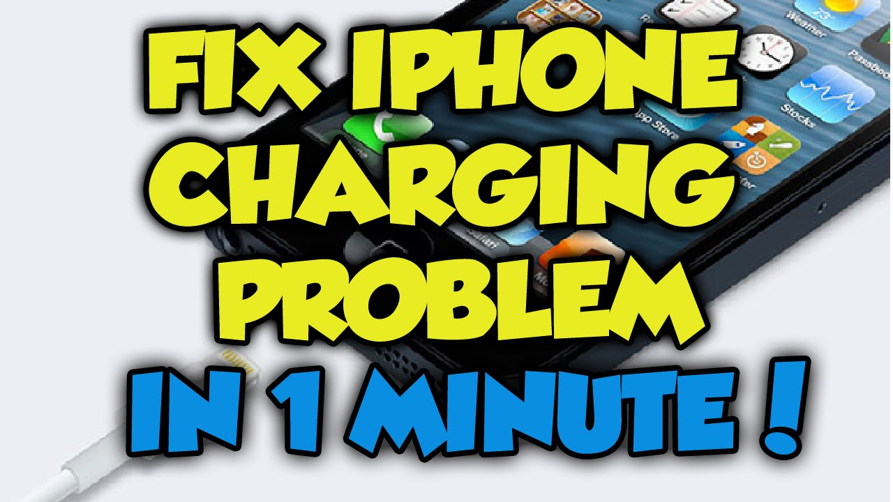 iphone 6 charger not working iphone charging problem fix in 1 minute how to fix iphone 3388