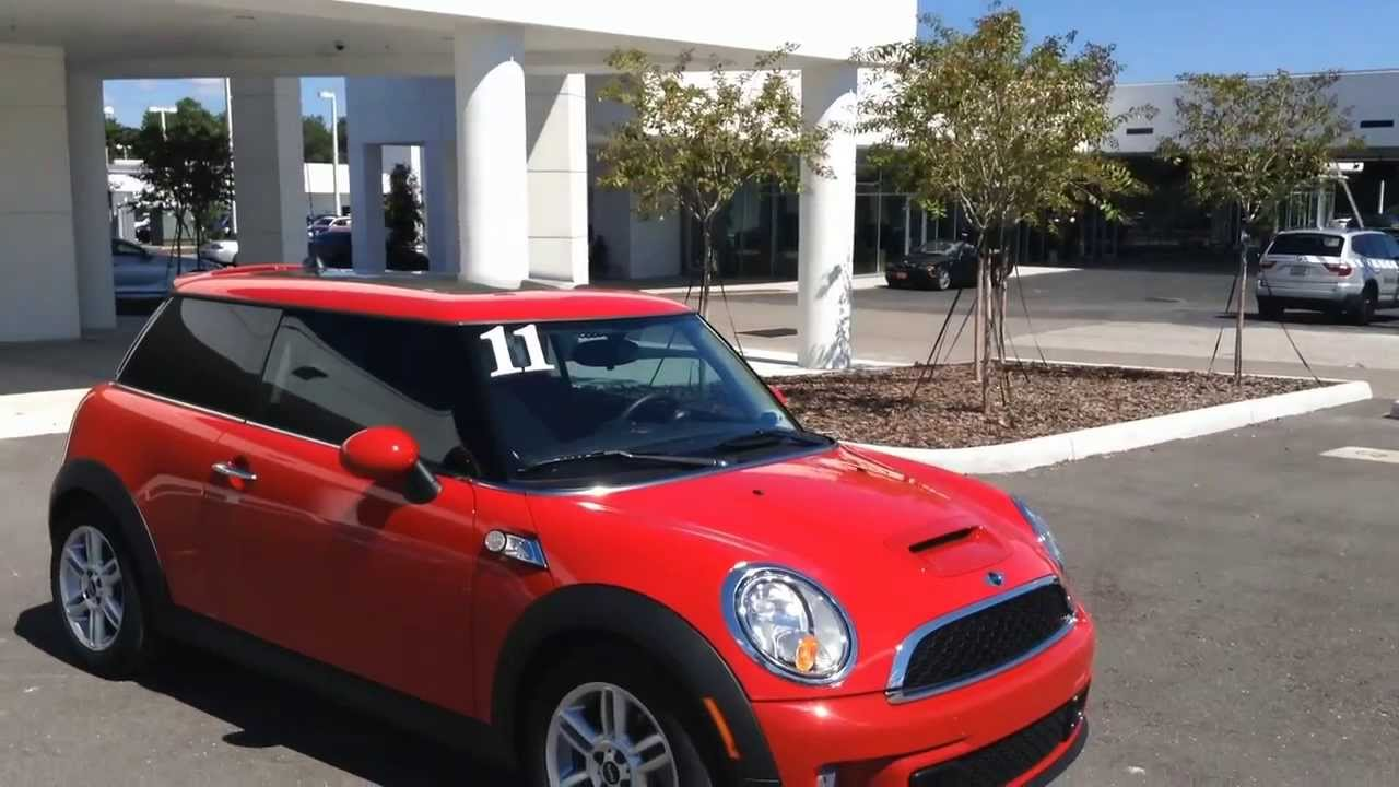 certified used 2011 mini cooper s hardtop for sale in. Black Bedroom Furniture Sets. Home Design Ideas
