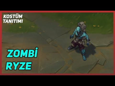 Zombi Ryze (Kostüm Tanıtımı) League of Legends