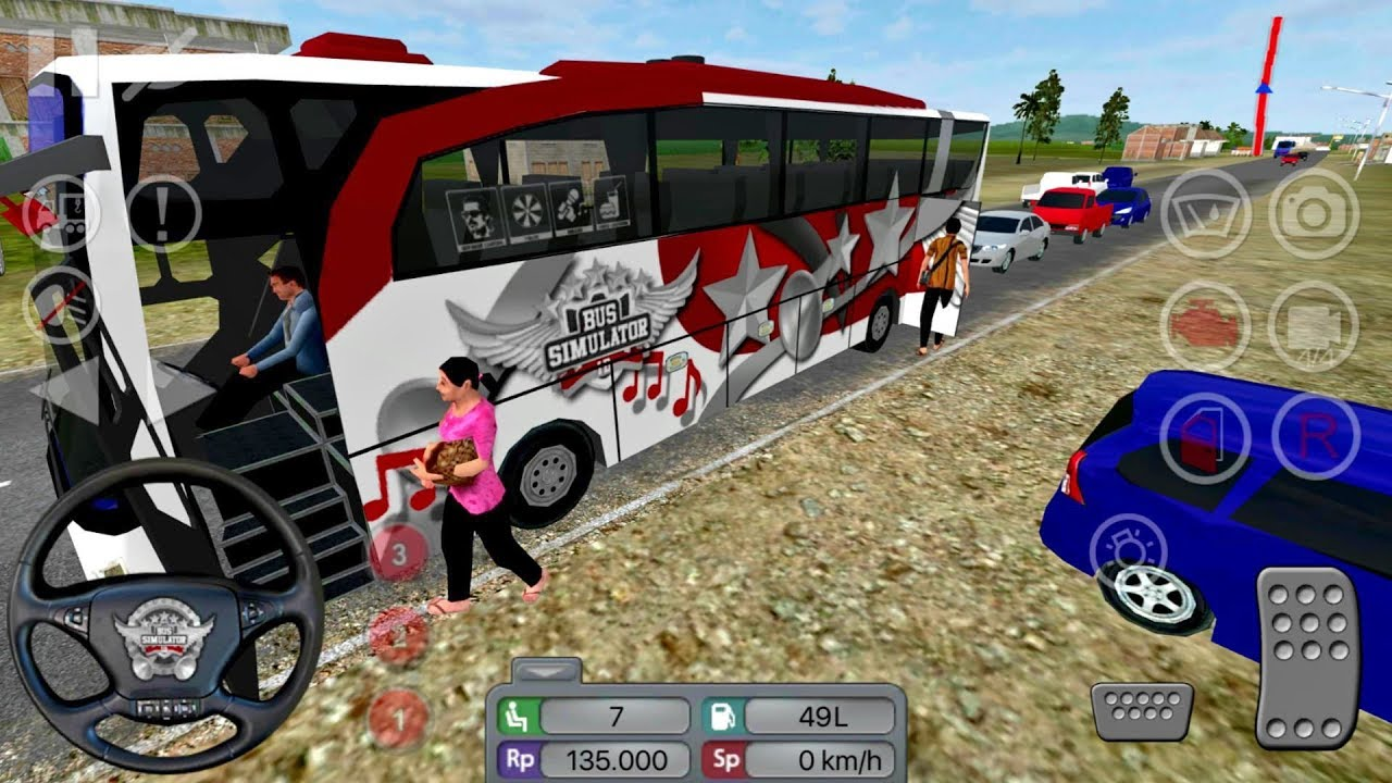 Bus Simulator Indonesia #1 - Dangerous Driver! 😱😱 - Android gameplay