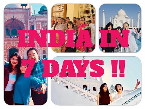 INDIA IN 7 DAYS !! VLOG || Japanese Host family visit