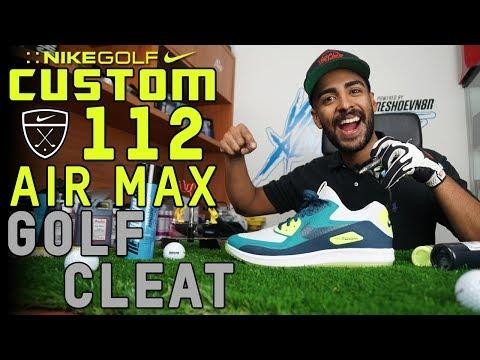 custom-nike-air-max-golf-shoes