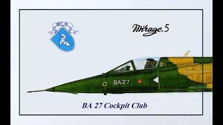 BA 27 Cockpit Club