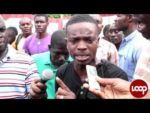 VIDEO : tension à Port-au-Prince