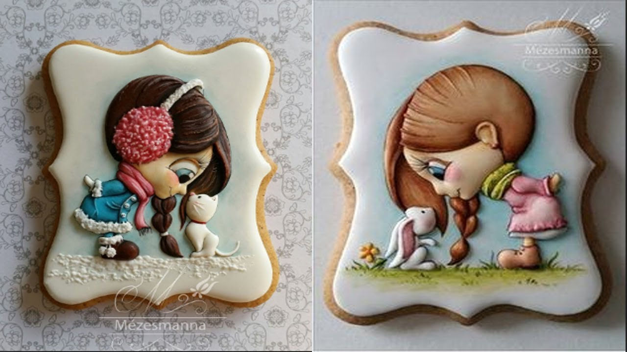 Top 20 Amazing Cute Cookies Art Decorating Ideas ... - photo#10