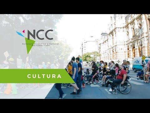 Personas con y sin discapacidad realizan rally en silla de ruedas