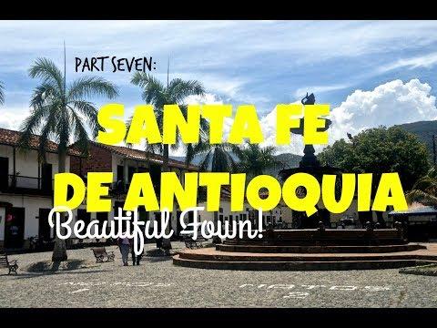 SANTA FE DE ANTIOQUIA, COLOMBIA | AMAZING TOWN NEAR MEDELLIN COLOMBIA!