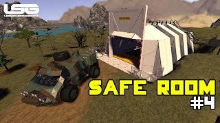 Space Engineers - Planetary Safe Room & Vehicle Lift (PTE)#4