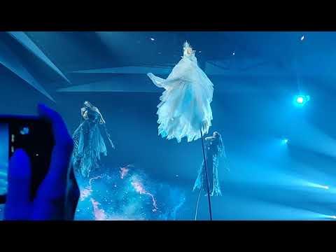 Eurovision 2019 First Semifinal Jury Rehearsal Australia Kate Miller Zero Gravity
