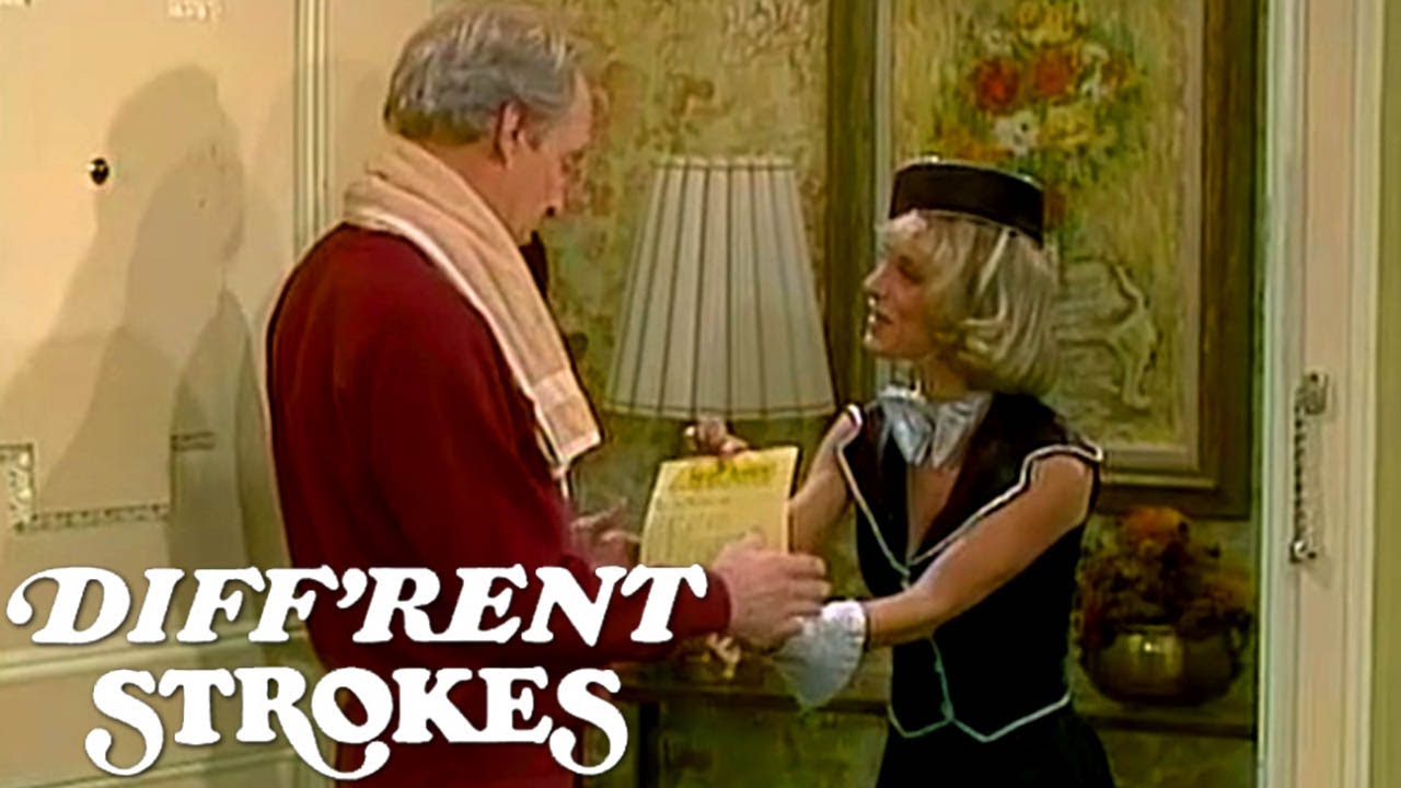 Mr. Drummond Receives A Special Message For His Birthday | Diff'rent Strokes