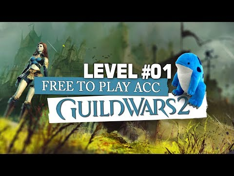 Guild Wars 2 F2P Account ? LEVEL 1 - Guide, Interface, erste Quest thumbnail