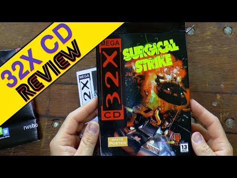 Sega's lost game. A game thought to be unreleased for 20 years.- Surgical Strike Sega 32X CD.