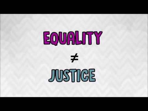 Why Equality Is Not Justice