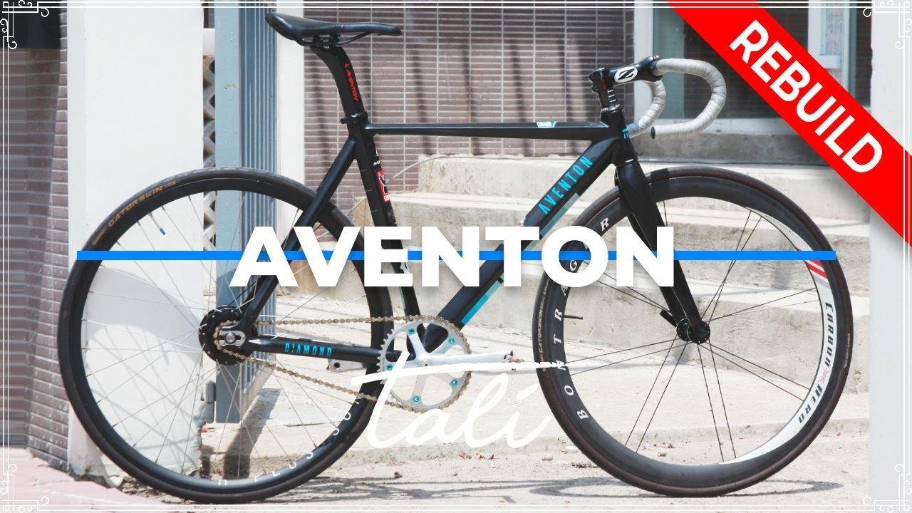 DREAM BUILD FIXED GEAR - DIAMOND - Aventon // TALI Bike