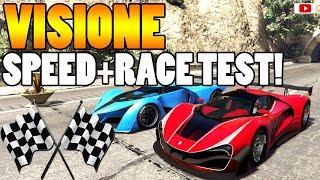 🤔🏁Schafft Er Den VAGNER? VISIONE Speed+Race Test!🏁🤔 [GTA 5 Online Smugglers Run Update DLC]