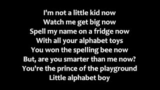 Melanie Martinez - Alphabet Boy Lyrics