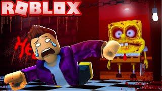 Spongebob. EXE APPEARS IN HORROR UP IN ROBLOX!