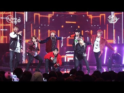 [MPD직캠 4K] 방탄소년단 직캠 21세기 소녀 BTS 21st Century Girls Fancam @엠카운트다운_161013