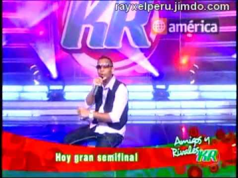 Michael Robles prueba de Canto AMIGOS Y RIVALES KR 21-06-2010