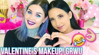 Valentine's Makeup Tutorial with Mariale using Kristen Leanne Urban Decay Collection!