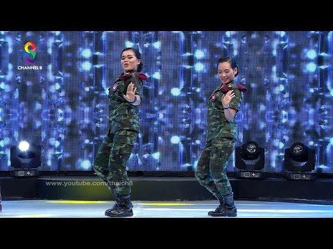 เมื่อสองทหารสาว มาโชว์สต็ปการเต้นบนเวที ฮ่าได้อีก!!!