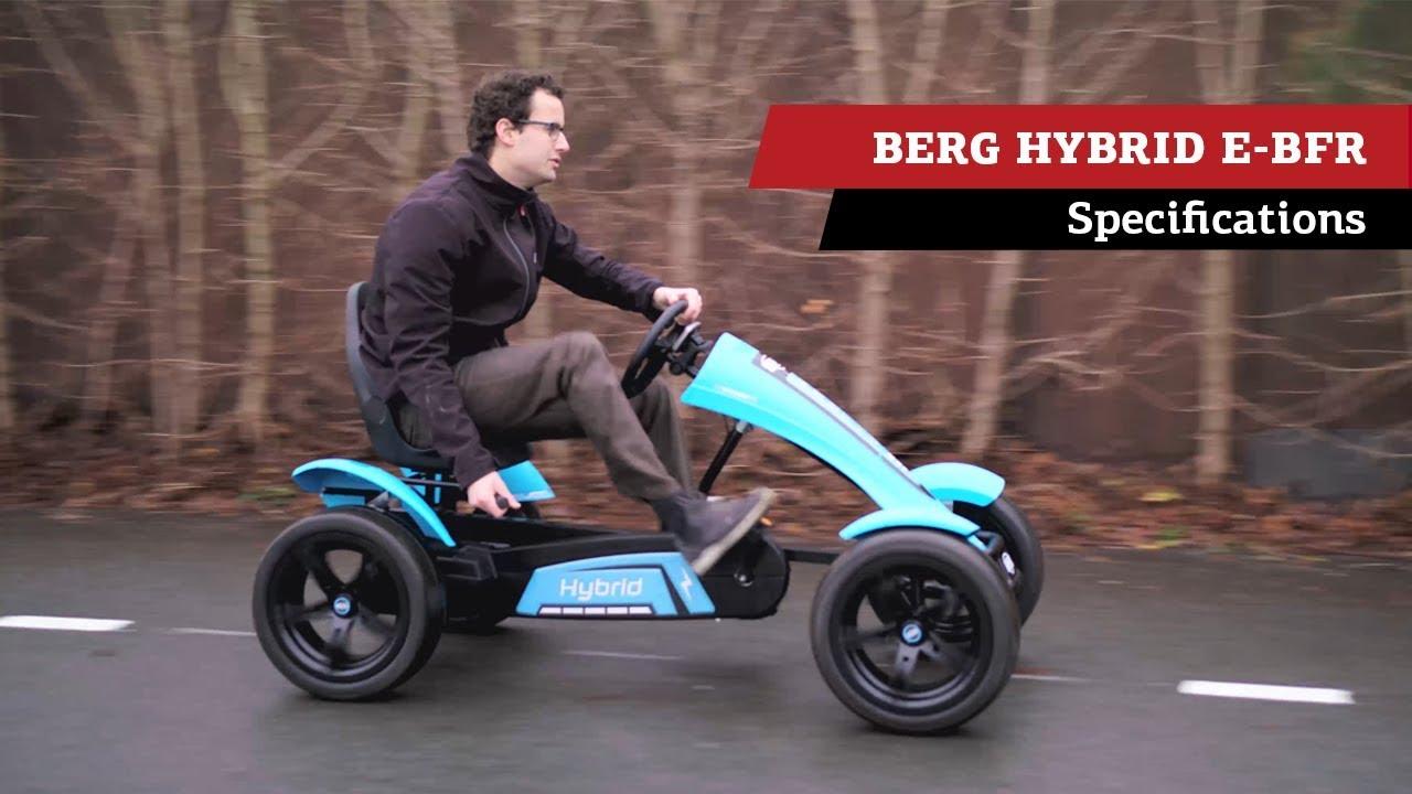 Berg Hybrid E Bfr Pedal Go Kart Specifications