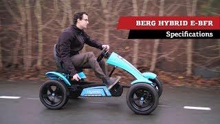 BERG Hybrid E-BFR pedal go-kart | specifications