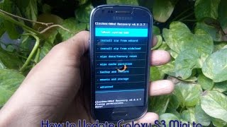 Root and Install CWM Recovery on Samsung Galaxy S3 Mini